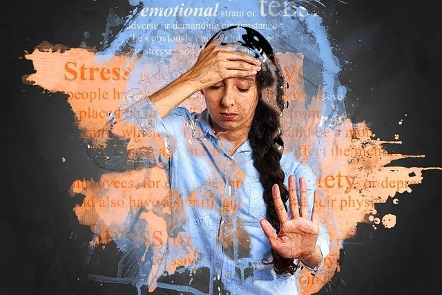 Stress Anxiety Depression - Free photo on Pixabay (600439)