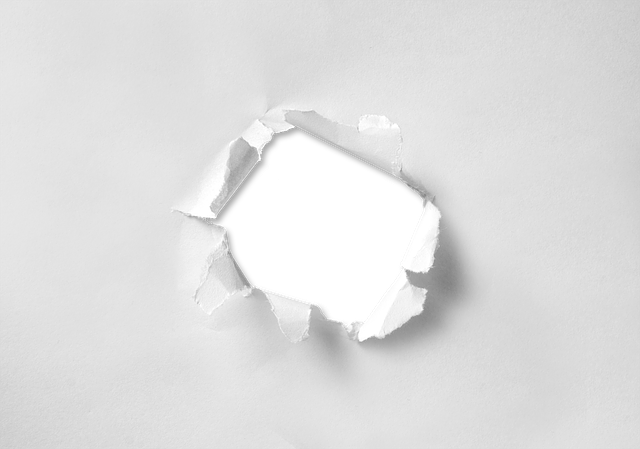 Hole Torn Paper - Free image on Pixabay (600536)