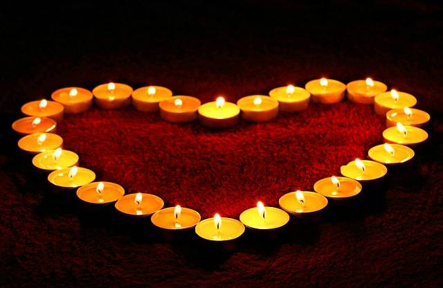 Candles Heart Flame - Free photo on Pixabay (604886)