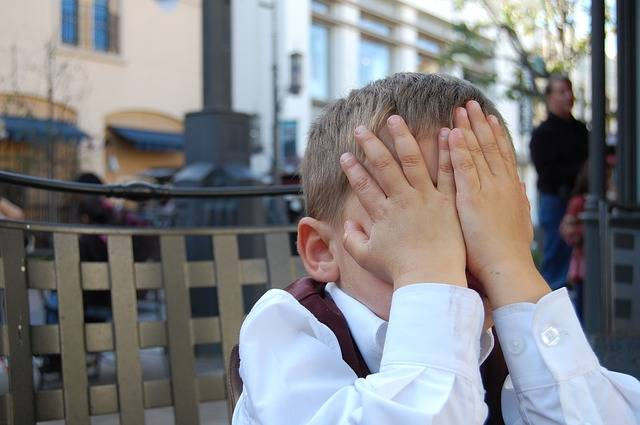 Boy Facepalm Child - Free photo on Pixabay (609424)