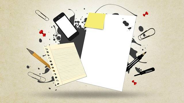 Paper Messy Notes - Free image on Pixabay (611965)