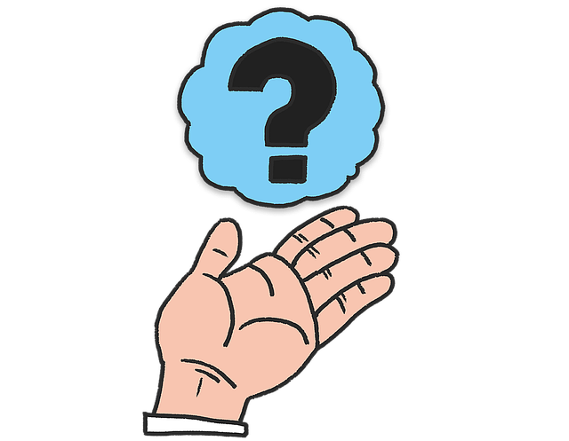 Hand Question Questions - Free image on Pixabay (651209)
