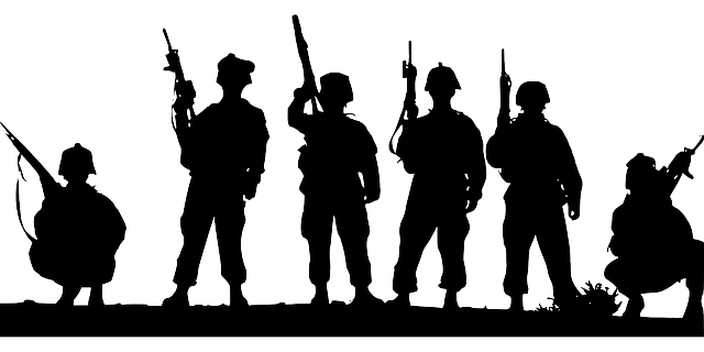 Soldiers Troops Military - Free vector graphic on Pixabay (660311)