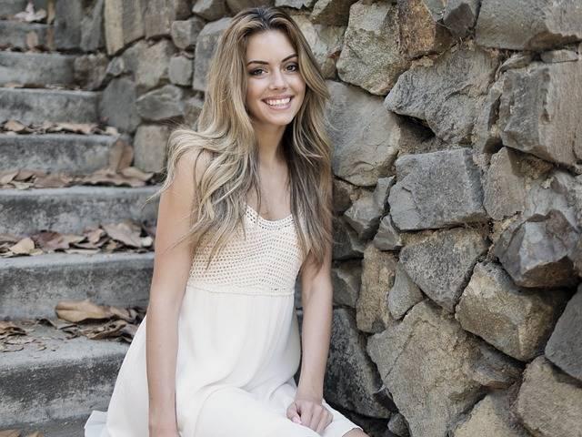 Beautiful Girl Smiling - Free photo on Pixabay (666585)