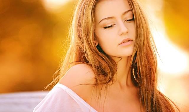 Woman Blond Portrait - Free photo on Pixabay (666588)