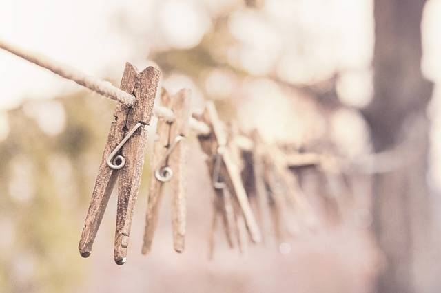 Pegs Clothes Line Clothesline - Free photo on Pixabay (671572)