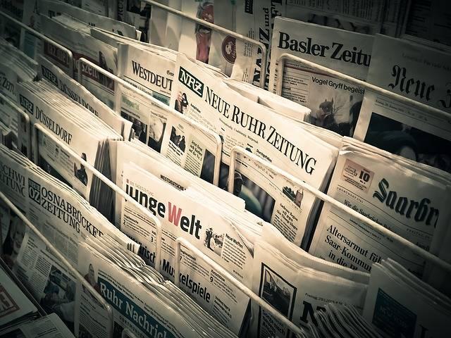 News Daily Newspaper Press - Free photo on Pixabay (711972)
