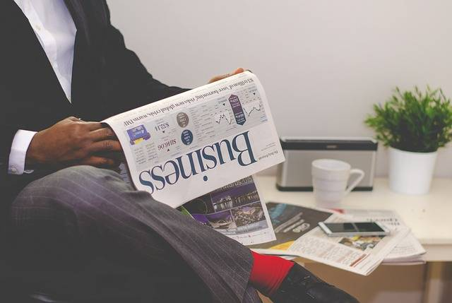 Business Man Newspaper - Free photo on Pixabay (726073)