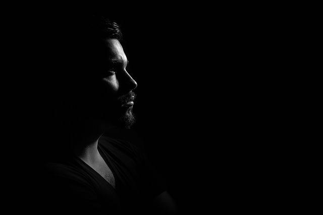 Man Portrait Gloomy - Free photo on Pixabay (726633)