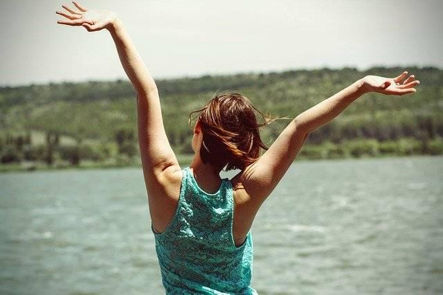 Happiness Back Side Woman - Free photo on Pixabay (741615)