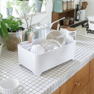 洗い桶になる水切りケース YOHAKU(余白)  和平フレイズ 公式オンラインストア (741610)