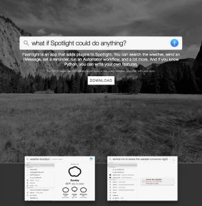Flashlight-website
