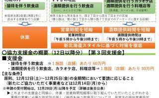 北海道の新型コロナウイルス感染症感染防止に係る「集中対策期間」再延長に伴うお知らせについて(札幌市)