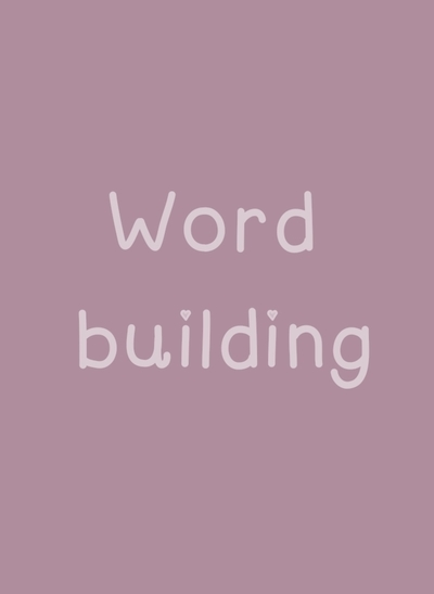 Word building (ม. 4)