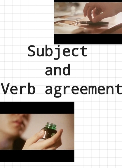 Subject And Verb agreement ม.5