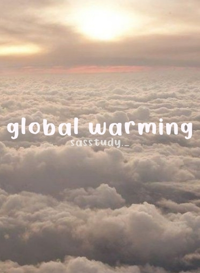 global warming kelas 7  Sampul
