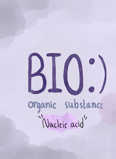 Organic substance:Nucleic acid