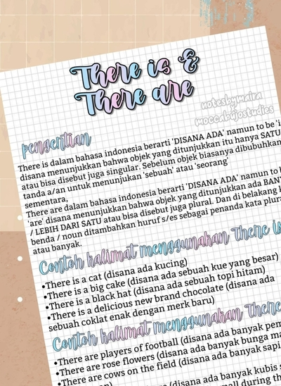 There is and There Are - Bahasa Inggris Sampul