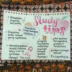 [mind map] study tips  Page 1