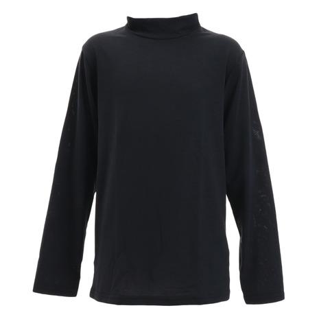 PGACヒートクロス 薄手長袖ハイネックシャツ BLK