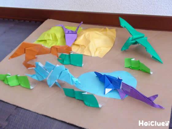 簡単 折り紙:プテラノドン 折り紙-hoiclue.jp