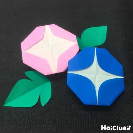 クリスマス 折り紙 朝顔 折り紙 : hoiclue.jp
