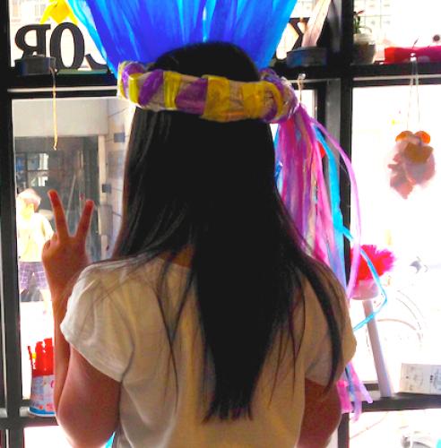 シャララ〜ン新聞紙かんむり〜新聞紙で楽しむ手作りおしゃれアイテム〜