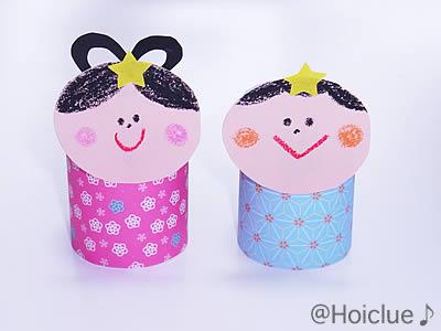 身近な物を使って作る七夕人形 ... : 折り紙 工作 幼児 : 幼児