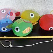 ぷくぷく魚釣り〜水風船の手触り楽しい釣り遊び〜