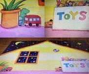 【おもちゃのチャチャチャ・背景画】☆発表会☆1歳児