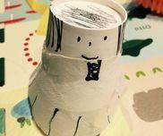 ▪︎紙コップ人形材料…紙コップ、コーヒーフィルター、ペン、セロハンテープ