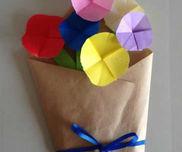 折り紙の花束を贈ろう!〜プレゼントにもピッタリの製作あそび〜