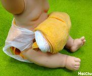 レジ袋でおむつ〜たったの2つの材料でできる簡単おむつ〜