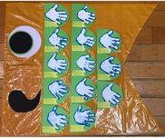 5月 こいのぼり制作 *̣̩⋆̩*#1歳児 #手形 #こいのぼり