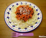 本物みたいなスパゲッティ〜材料1つで楽しめる製作遊び〜