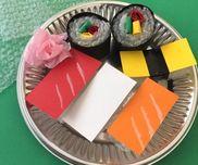 プチプチしゃりの握り寿司〜身近な廃材でなんちゃって製作遊び〜