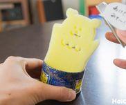 【工作コラム】スポンジで簡単びっくり箱!〜素材/スポンジ・空き缶