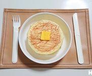 本物みたいなホットケーキ〜材料2つでまんまるおやつ〜