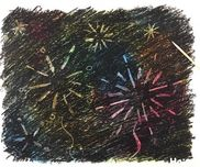 【お絵描き技法】ひっかき絵(スクラッチ)〜クレヨンで楽しむお絵描き遊び〜