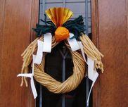 毛糸で作るしめ飾り〜お正月にちなんだ製作遊び〜