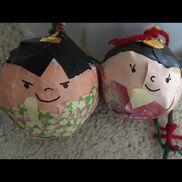 コロコロ雛人形♡使うもの・水風船・障子紙・折り紙