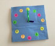チクタク時計〜時間や数を身近に感じることのできる製作遊び〜