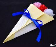 花束メッセージカード〜特別な日の贈り物にもってこいの手作りカード〜