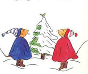 【絵本×あそび】本物みたいなクリスマスケーキ〜絵本/ぐりとぐらのおきゃくさま〜