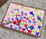 母の日のプレゼント年少さん幼稚園での秘密のプレゼント作り。
