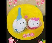 雛人形・紙皿・紙粘土・絵の具・お弁当カップ