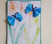 ちょうちょとお花の壁飾り〜春を感じる製作遊び〜