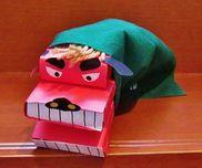 パクパク獅子舞〜作って楽しい遊んで楽しい手作りおもちゃ〜
