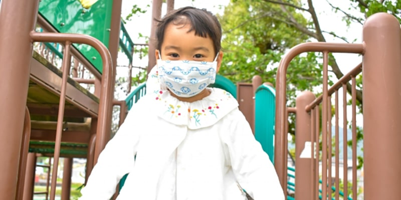 マスク漬けの子どもたち
