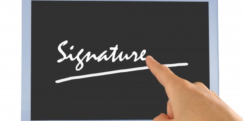 署名をしよう!!
